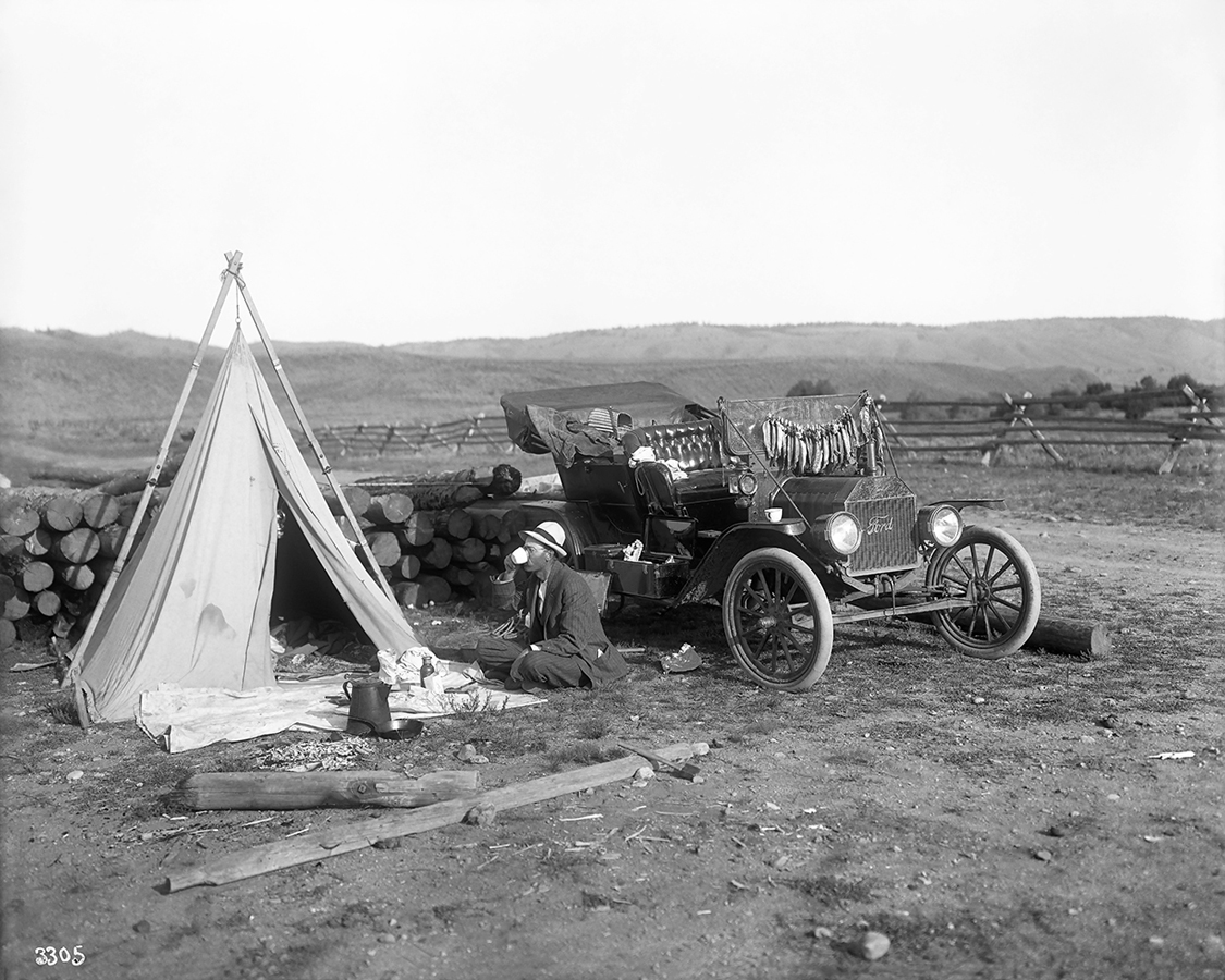 1023-Stimson-Neg-3305,-Hunting-and-fishing-camp-on-Big-Laramie,-Aug-8,-1912-dura