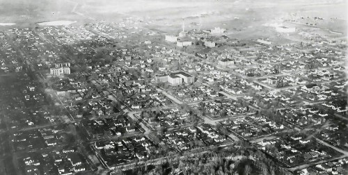 Laramie by 1932 had grown to a well established city.  With the presence of the University and the UP Railroad, the city flourished and expanded beyond its early recognition.